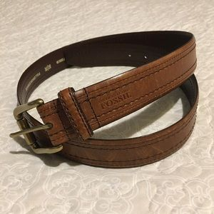 Fossil Men's belt EUC